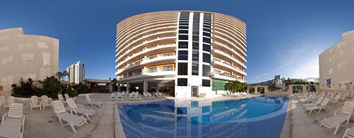 Piscina del Hotel Casa Inn. Acapulco, México