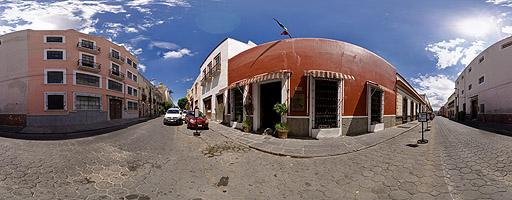 Calle del Centro Histórico. Puebla de Zaragoza, México