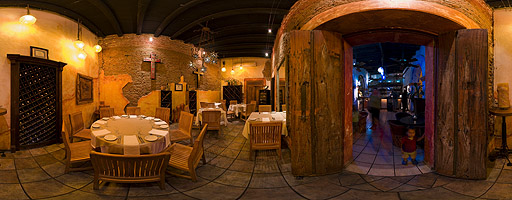 Restaurante La Panga Antigua. San José del Cabo, México