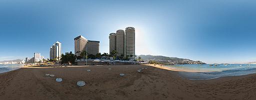 Playa Icacos. Acapulco, México