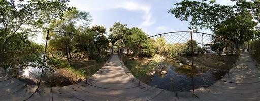 Puente Colgante del Río Cuale. Puerto Vallarta, México