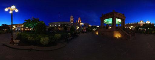 Plaza de Armas. San Luis Potosí, México