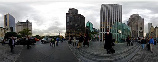 Apple Store 5th Avenue. Nueva York, EE.UU