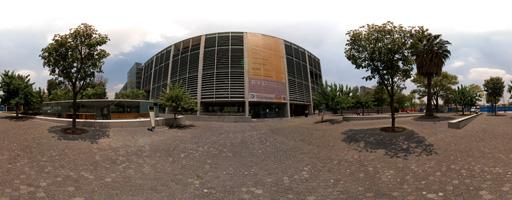 La Biblioteca Vasconcelos – Entrada principal (1 de 8)