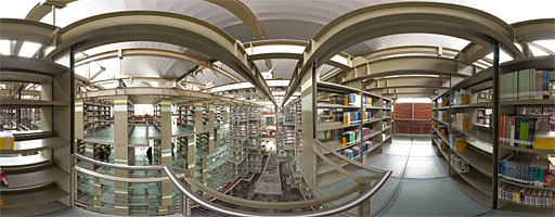 La Biblioteca Vasconcelos – Libreros colgantes nivel 3 (3 de 8)