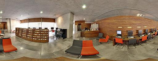 La Biblioteca Vasconcelos – Sala de música (6 de 8)
