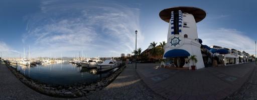 Marina Vallarta. Puerto Vallarta, México.