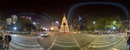 El árbol de Navidad más grande del mundo, Ciudad de México