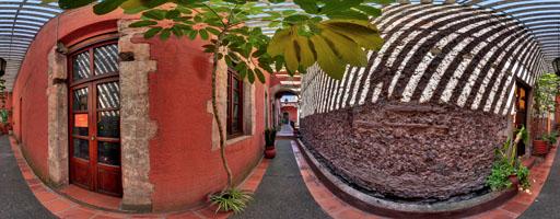 Corredor, Casa Talavera, México, D.F.